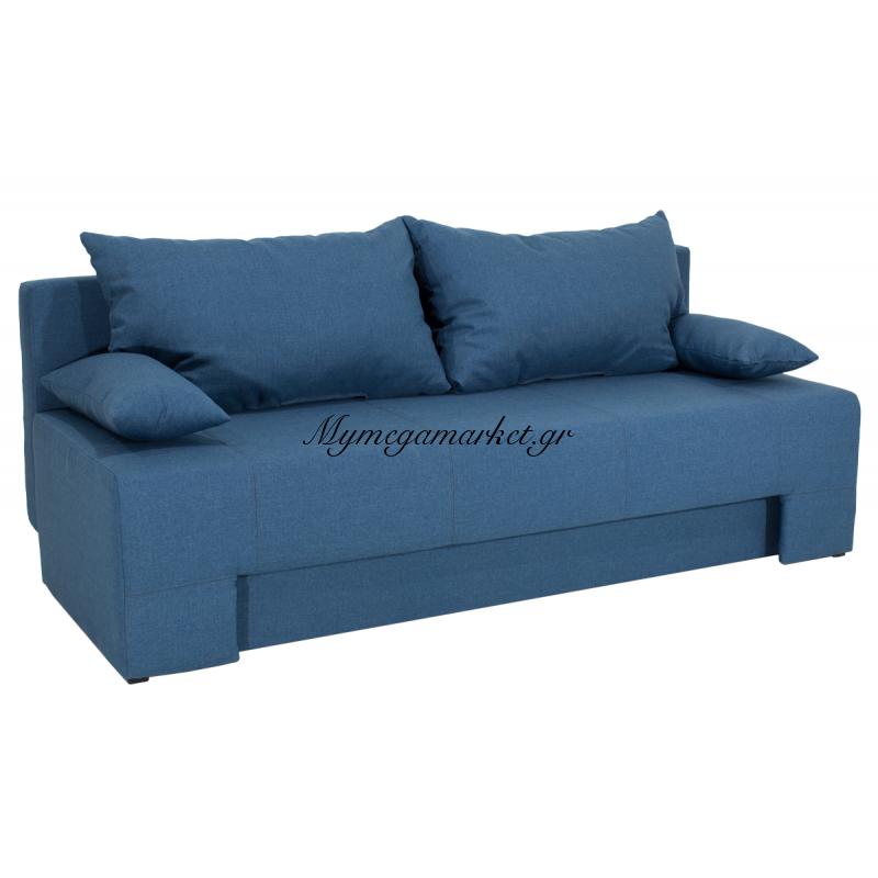 Kαναπές-Κρεβάτι Sunny 3Θέσιος Επένδυση Υφάσματος Μπλε-Σιέλ Χρώματος Διάστασης 195X82X84 Εκ Στην κατηγορία Καναπέδες - Κρεβάτια | Mymegamarket.gr