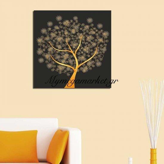Πίνακας Σε Καμβά Pwf-0099 Με Ψηφιακή Εκτύπωση 45X3X45Εκ Στην κατηγορία Πίνακες ζωγραφικής | Mymegamarket.gr