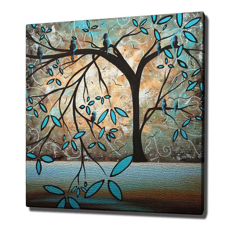 Πίνακας Σε Καμβά Pwf-0100 Με Ψηφιακή Εκτύπωση 45X3X45Εκ Στην κατηγορία Πίνακες ζωγραφικής | Mymegamarket.gr