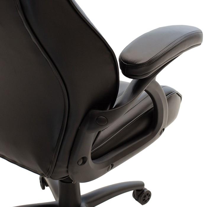 Καρέκλα Γραφείου Schumacher Gaming Pakoworld Απο Pu Χρώμα Μαύρο   Mymegamarket.gr