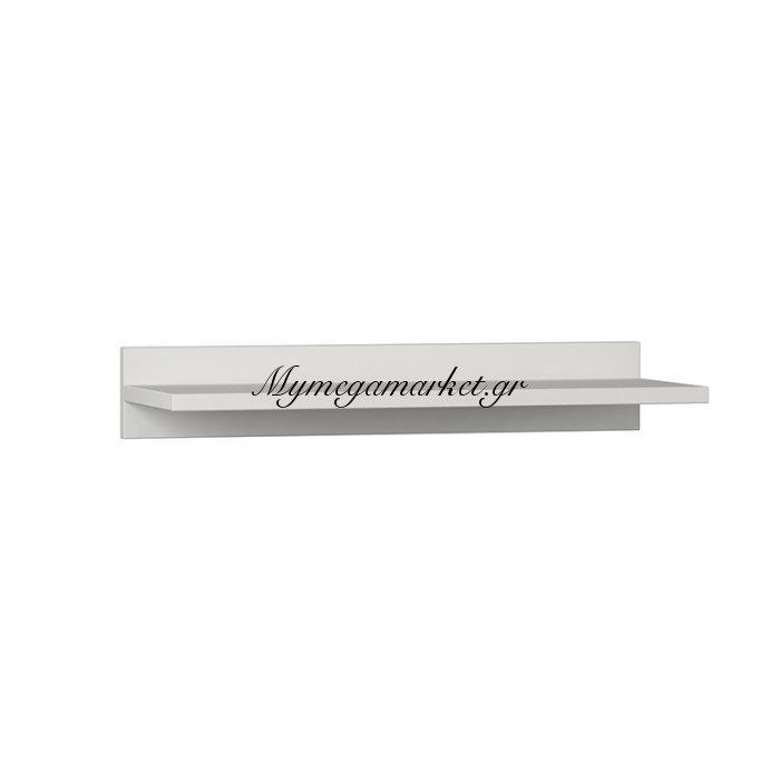 Επιτοίχιο Ράφι Duz Χρώμα Λευκό 60X22X10Εκ | Mymegamarket.gr