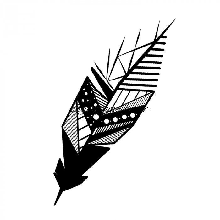 Μεταλλικό Διακοσμητικό Τοίχου Featrher 15X0,3X49Εκ | Mymegamarket.gr
