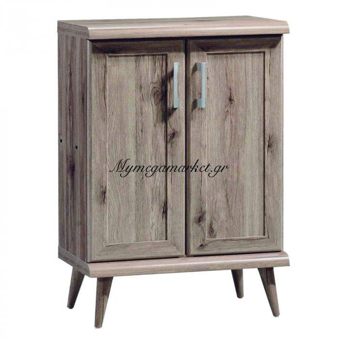 Παπουτσοθήκη-Ντουλάπι Ricardo Χωρητικότητας 8 Ζεύγη Σε Χρώμα Safari Oak  60X40X105 Εκ | Mymegamarket.gr