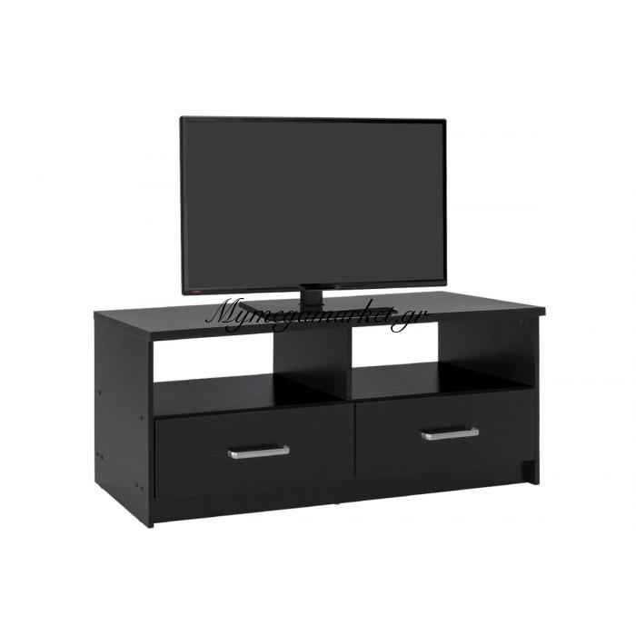 Έπιπλο Τηλεόρασης Olympus Χρώμα Wenge 120X39,5X50Εκ. | Mymegamarket.gr