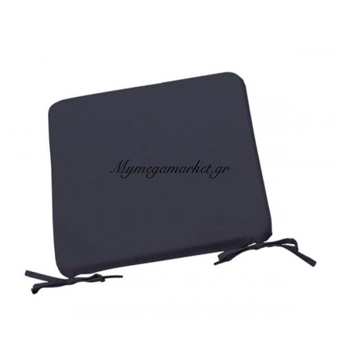 Μαξιλάρι Chair υφασμάτινο σε γκρι χρώμα 42x42x3 | Mymegamarket.gr