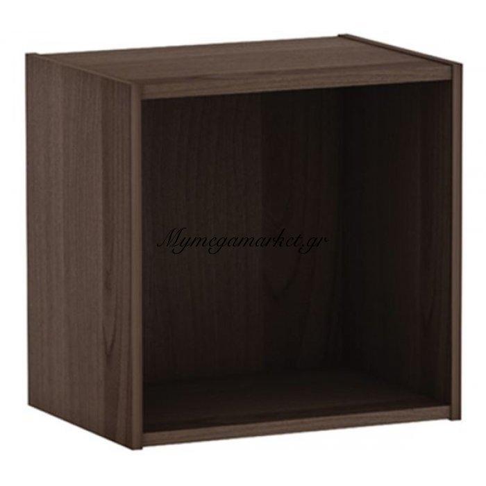 Decon Cube Κουτί 40X29X40Cm Καρυδί   Mymegamarket.gr
