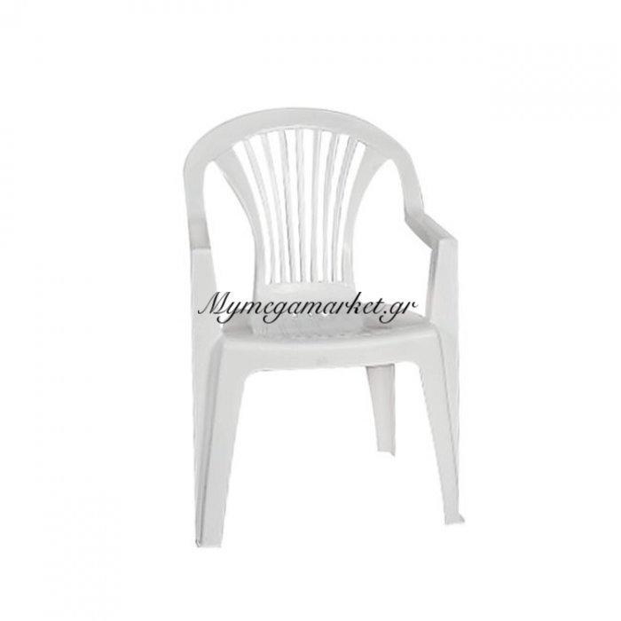 Lido Πολυθ.στοιβαζόμενη Πλαστική Άσπρη | Mymegamarket.gr