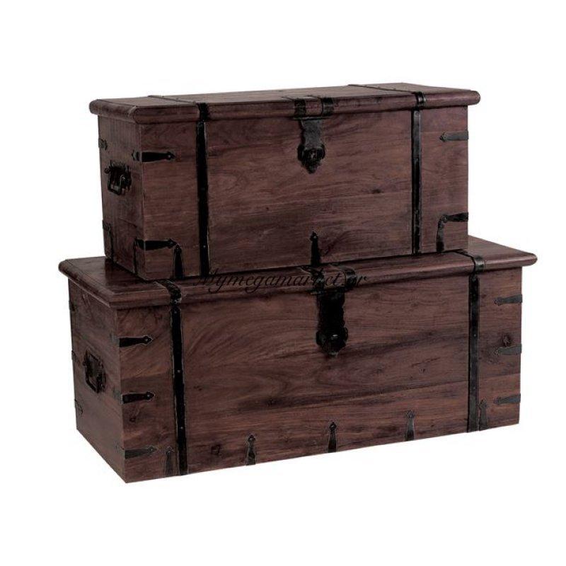 Box Μπαούλο Νο 2 81X37X35Cm