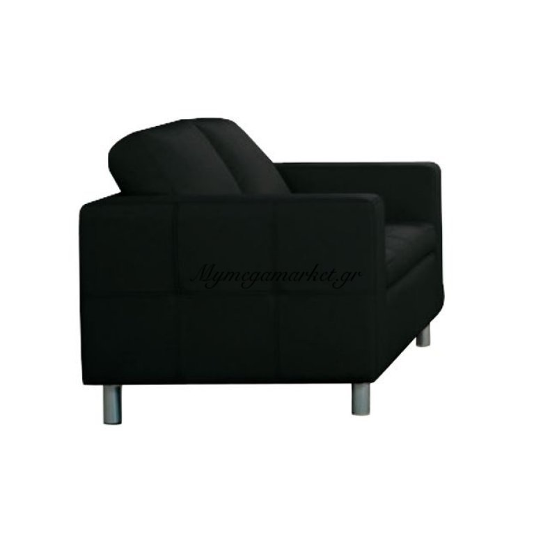 Alamo Καναπές 2 Θέσιος pu Μαύρο 145X85X82Cm Στην κατηγορία Καναπέδες - Κρεβάτια | Mymegamarket.gr
