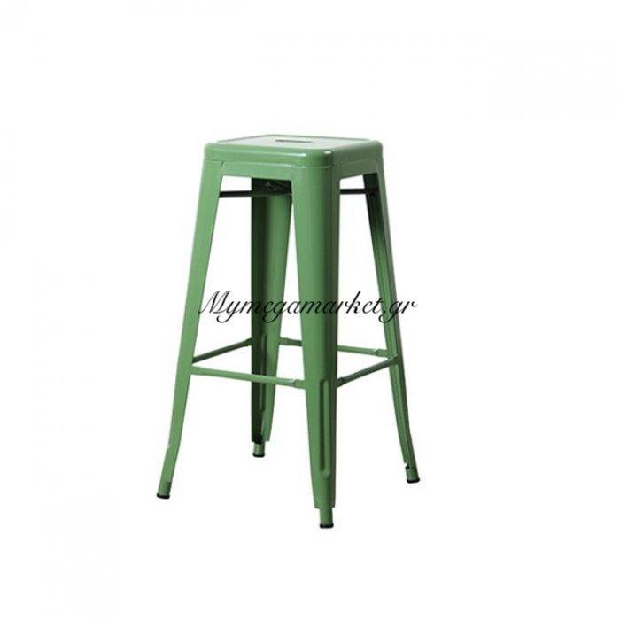 Relix Σκαμπώ Bar Μεταλ.πράσινο (Συσκ.10) | Mymegamarket.gr