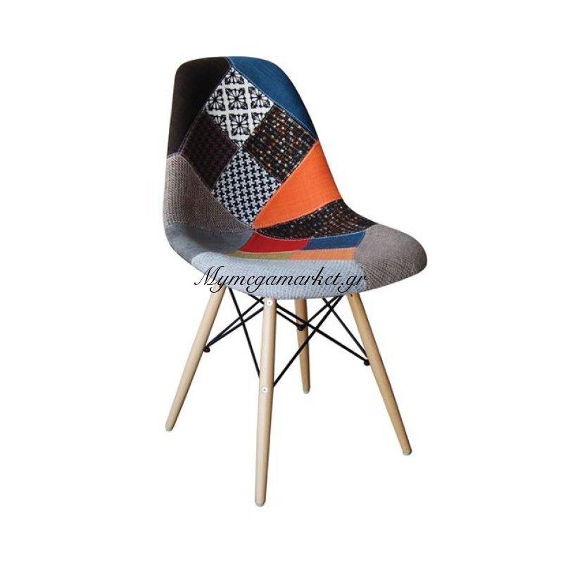 Art Wood Καρέκλα Pp, Ύφασμα Patchwork Στην κατηγορία Καρέκλες εσωτερικού χώρου | Mymegamarket.gr
