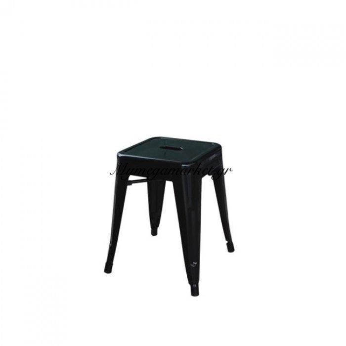 Relix Σκαμπώ H.45Cm Μαύρο (Συσκ.10) | Mymegamarket.gr