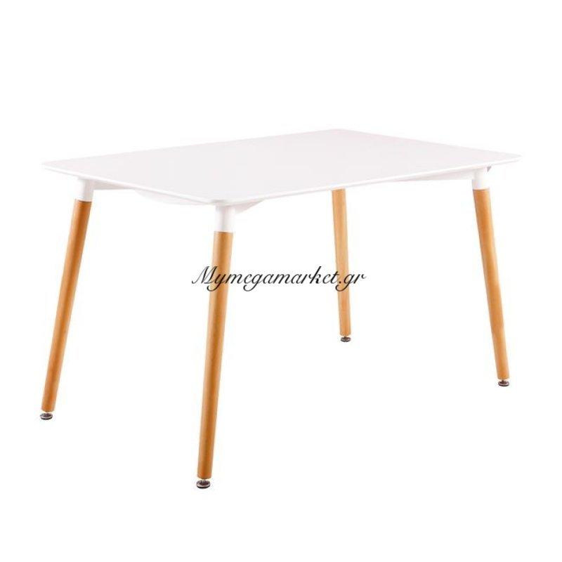 Art Τραπέζι 160X90Cm Λευκό Στην κατηγορία Τραπέζια - Τραπεζαρίες | Mymegamarket.gr