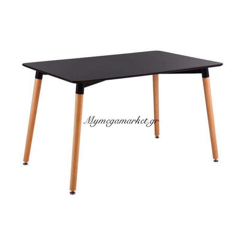 Art Τραπέζι 160X90Cm Μαύρο Στην κατηγορία Τραπέζια - Τραπεζαρίες   Mymegamarket.gr