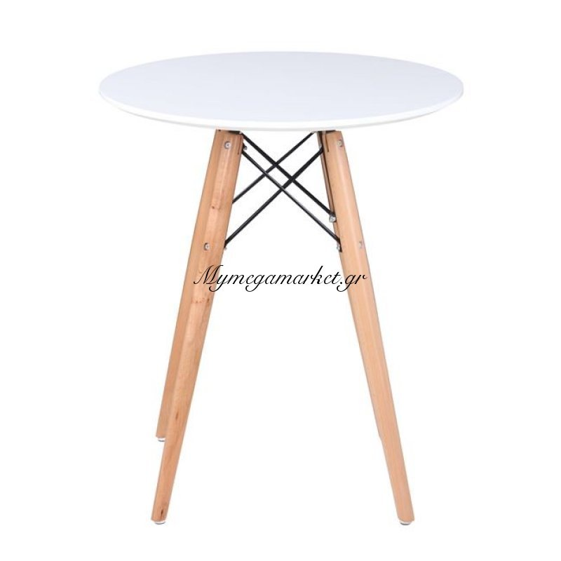 Art Wood Τραπέζι Φ60/h68Cm Λευκό Στην κατηγορία Τραπέζια - Τραπεζαρίες | Mymegamarket.gr