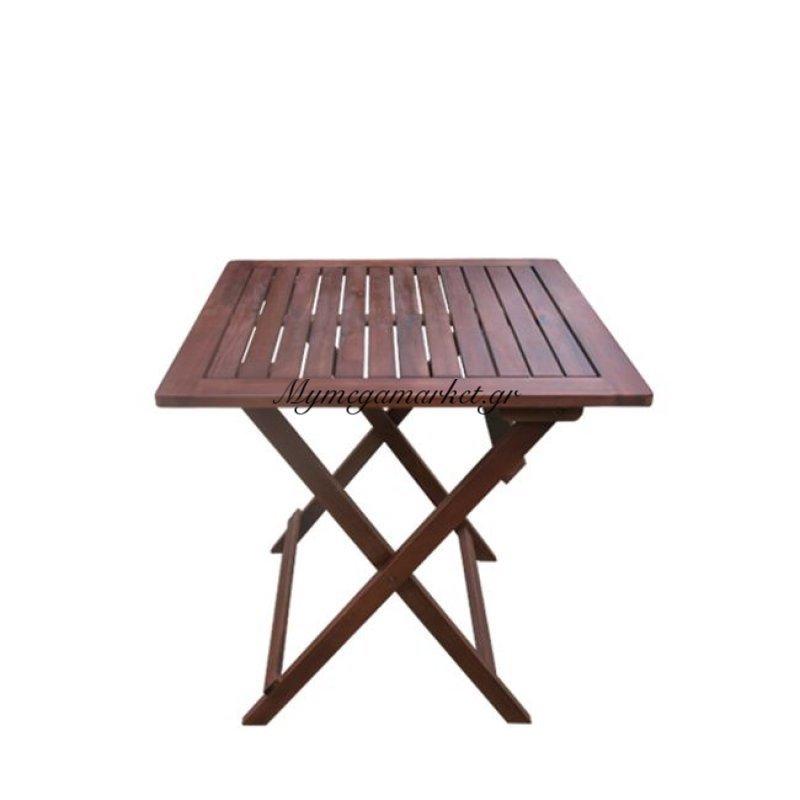 Easy Τραπ.60X60Cm Πτυσ/νο Acacia Στην κατηγορία Τραπέζια κήπου | Mymegamarket.gr
