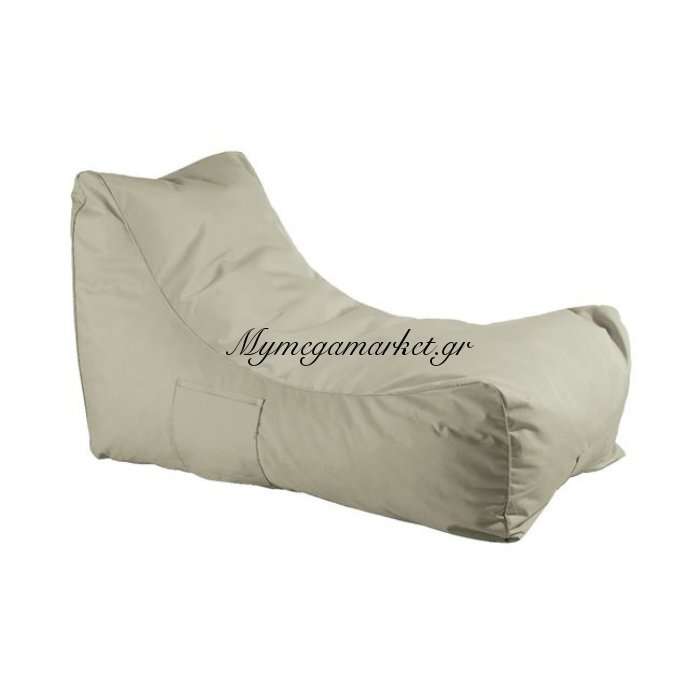 Lazy Ανάκλιντρο Πουφ Ύφ.sand 100% Αδιάβροχο | Mymegamarket.gr