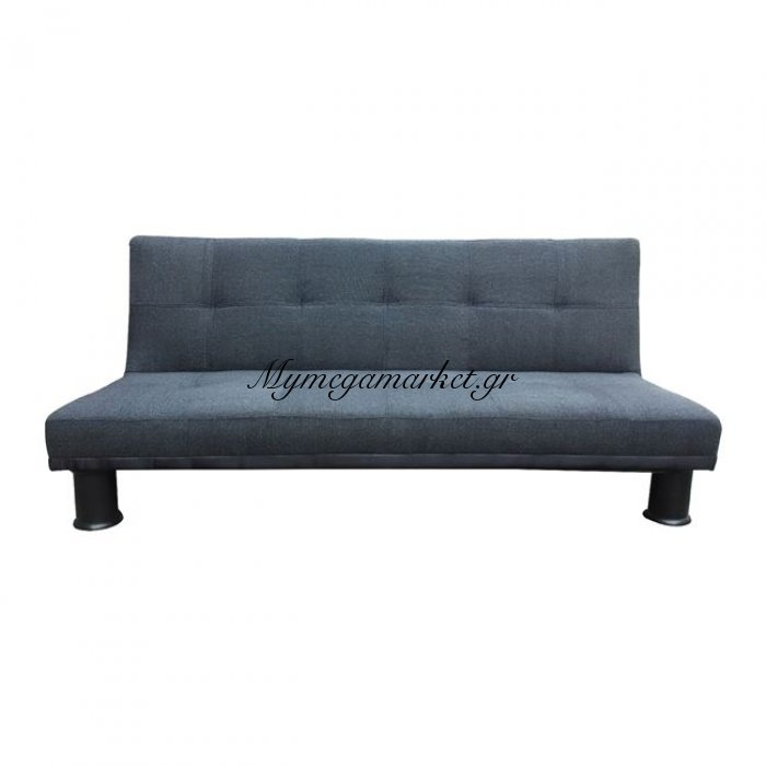 Ronald Καναπές κρεβάτι Ύφασμα Ανθρακί 190X89X82Cm | Mymegamarket.gr