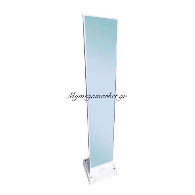 Kelvin Καθρέπτης Δαπέδου 35X35X173Cm Άσπρος Στην κατηγορία Καθρέφτες | Mymegamarket.gr