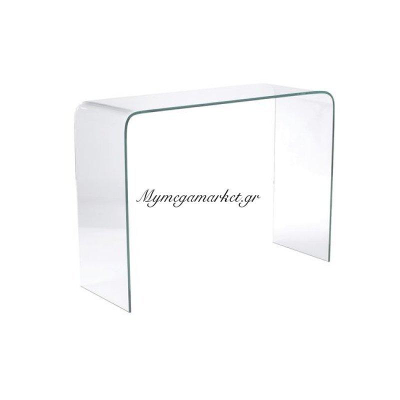 Glasser Clear Κονσόλα Γυαλί 12Mm 110X35X75Cm Στην κατηγορία Κονσόλες - Τουαλέτες   Mymegamarket.gr