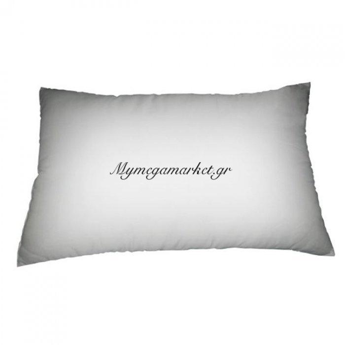 Μαξιλαρι Ύπνου 76X48Cm Fibre Γέμιση   Mymegamarket.gr