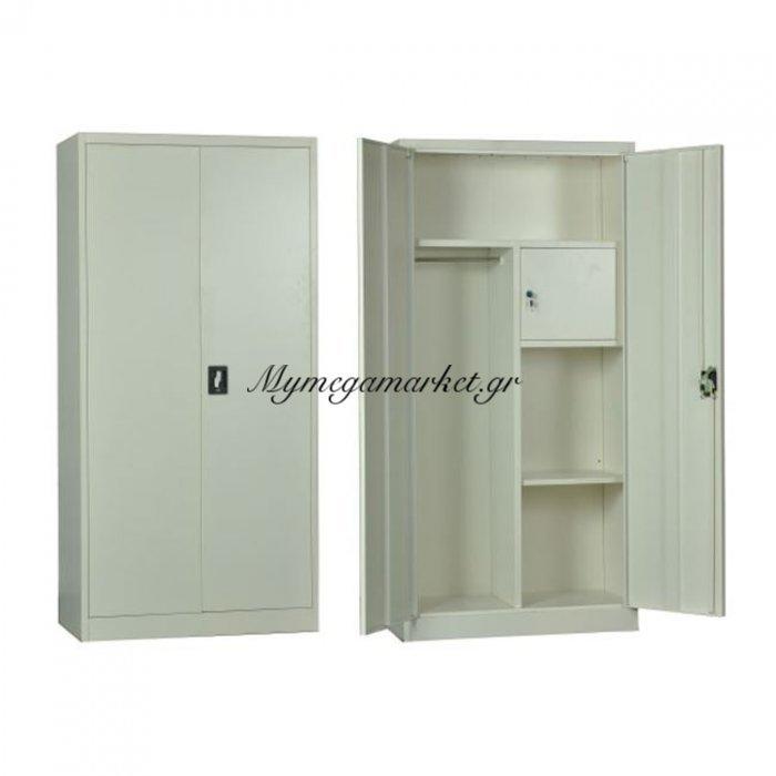 Ντουλαπα Μεταλ.(Εσωτ.ντουλάπι) 90X45X185Cm Λευκή | Mymegamarket.gr