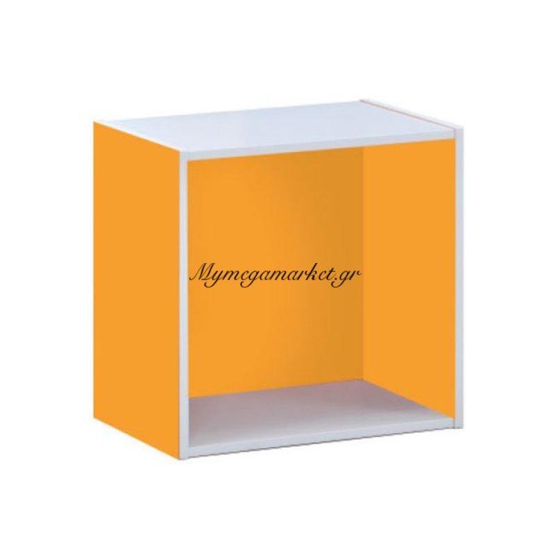 Decon Cube Κουτί 40X29X40Cm Πορτοκαλί Στην κατηγορία Ντουλάπια - Μπουφέδες | Mymegamarket.gr