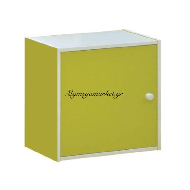 Decon Cube Ντουλάπι 40X29X40Cm Lime Στην κατηγορία Ντουλάπια - Μπουφέδες | Mymegamarket.gr