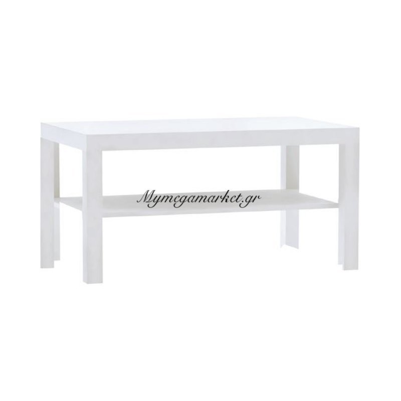 Decon Τραπ.σαλονιού 89X55Cm Άσπρο Στην κατηγορία Τραπέζια σαλονιού | Mymegamarket.gr