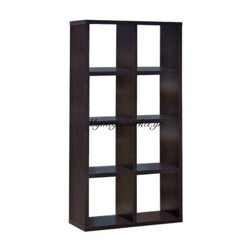 Decon Ραφιέρα 8-Cells 80X39X155Cm Wenge Στην κατηγορία Βιβλιοθήκες - Ραφιέρες | Mymegamarket.gr