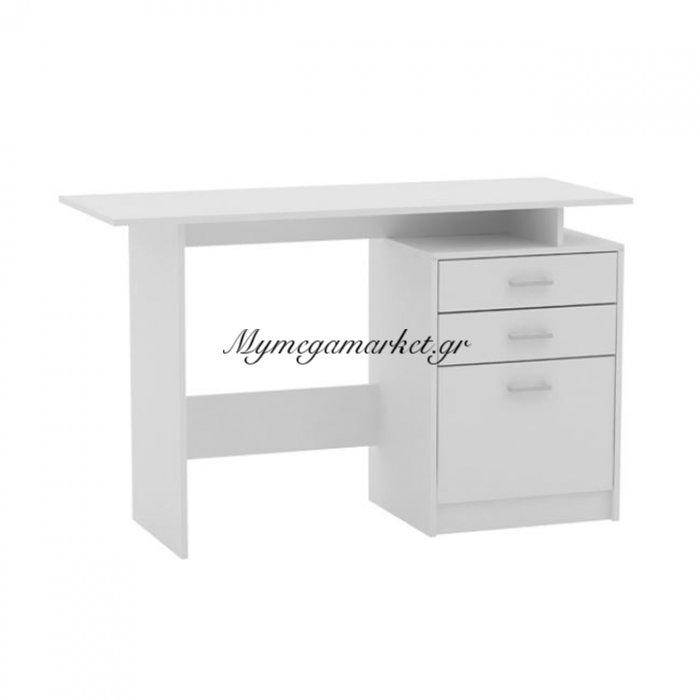 Decon Γραφείο 120X48Cm Άσπρο | Mymegamarket.gr