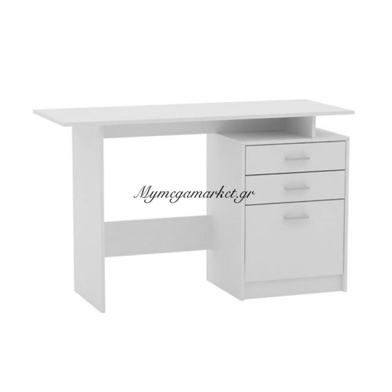 Decon Γραφείο 120X48Cm Άσπρο Στην κατηγορία Γραφεία | Mymegamarket.gr