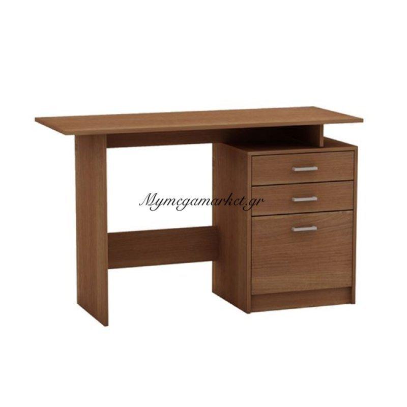 Decon Γραφείο 120X48Cm Κερασί Στην κατηγορία Γραφεία   Mymegamarket.gr