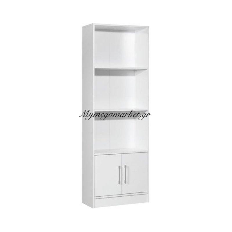 Decon Βιβλιοθήκη 60X29X180Cm Άσπρη Στην κατηγορία Βιβλιοθήκες - Ραφιέρες   Mymegamarket.gr
