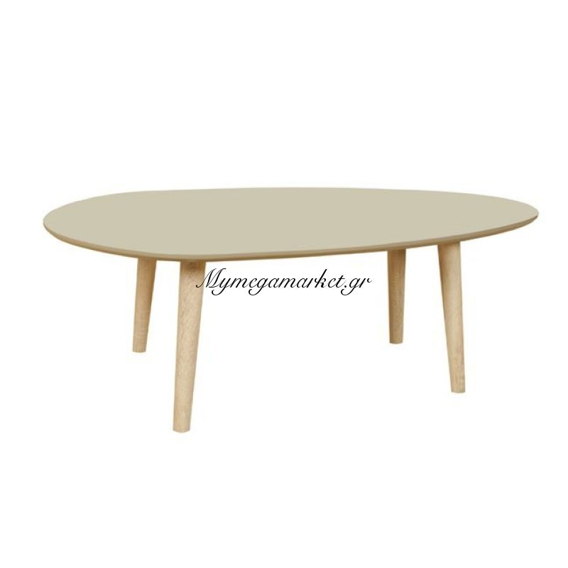Fine Τραπ.σαλονιού 98X60X38Cm Μπεζ Στην κατηγορία Τραπέζια σαλονιού | Mymegamarket.gr