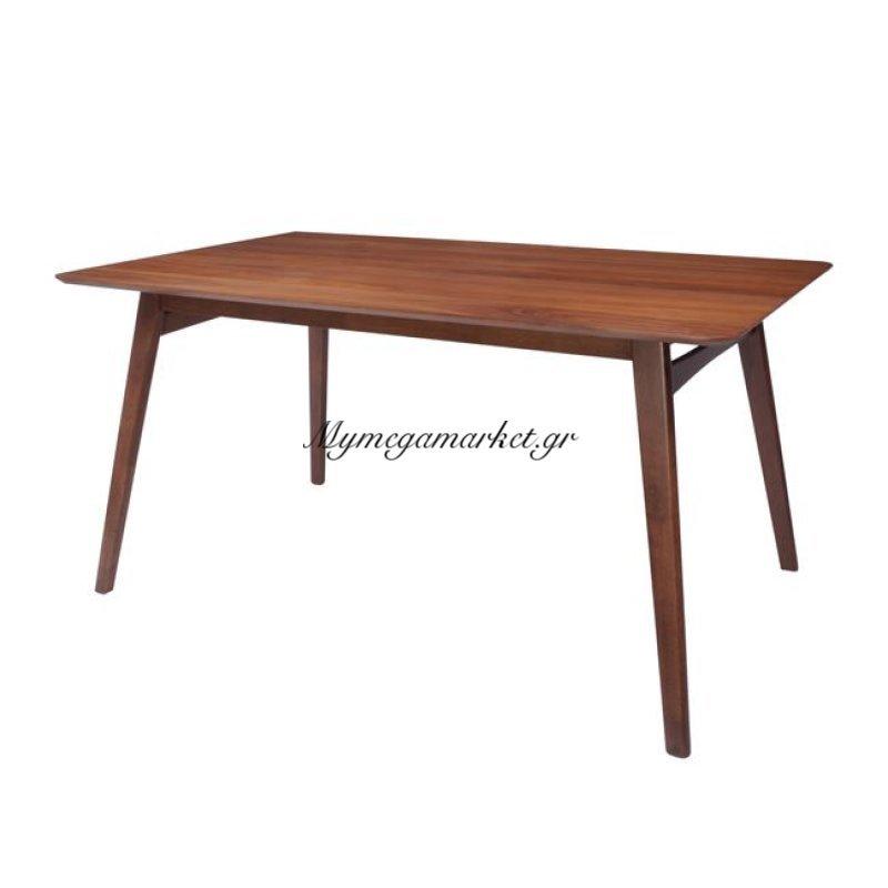 Doris Τραπέζι 150X90Cm Καρυδί Στην κατηγορία Τραπέζια - Τραπεζαρίες   Mymegamarket.gr