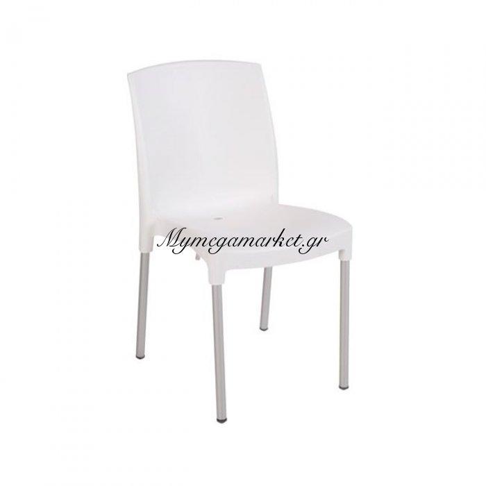 Jenny Καρέκλα Στοιβαζόμενη Pp Άσπρη | Mymegamarket.gr