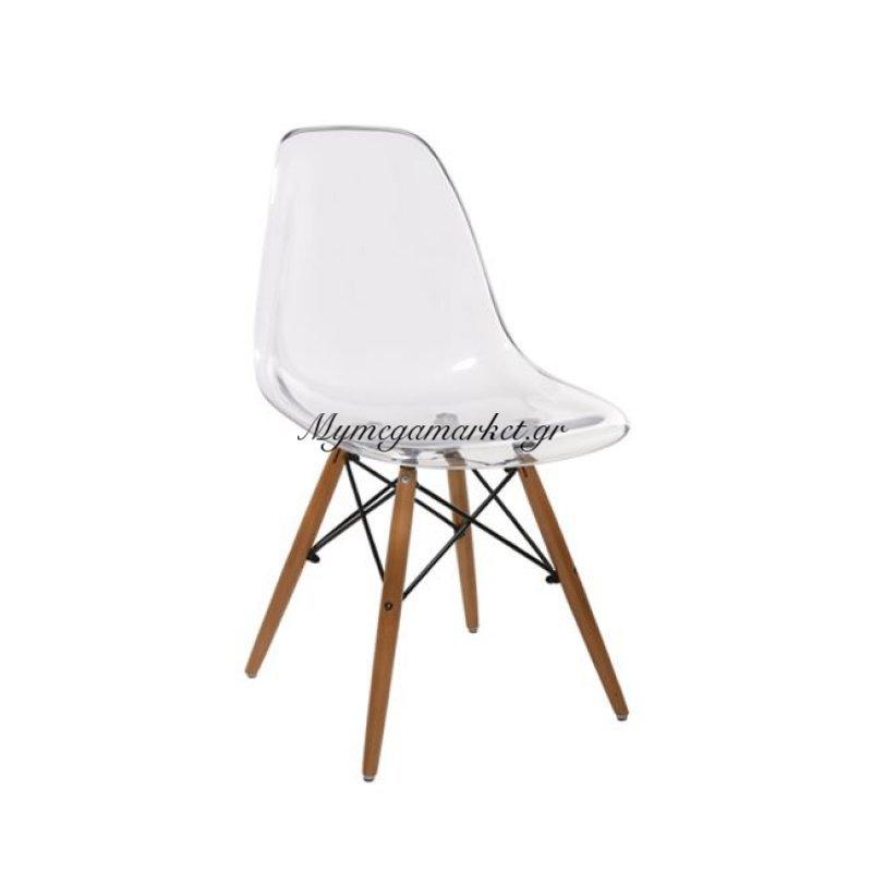 Art Wood Καρέκλα Pc Clear Στην κατηγορία Καρέκλες εσωτερικού χώρου | Mymegamarket.gr