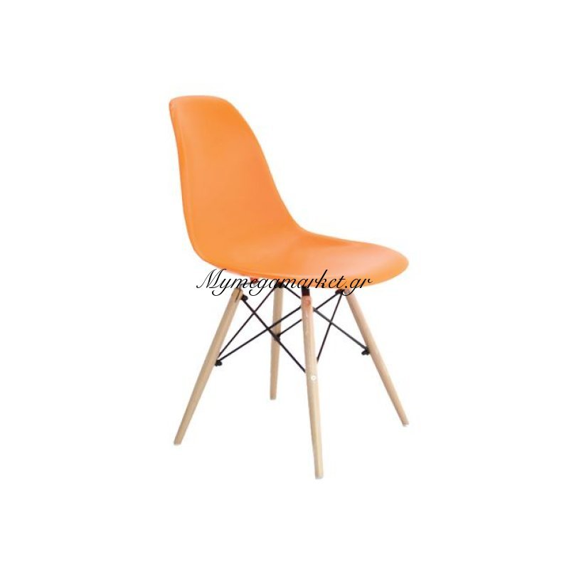 Art Wood Καρέκλα Pp Πορτοκαλί Στην κατηγορία Καρέκλες εσωτερικού χώρου | Mymegamarket.gr