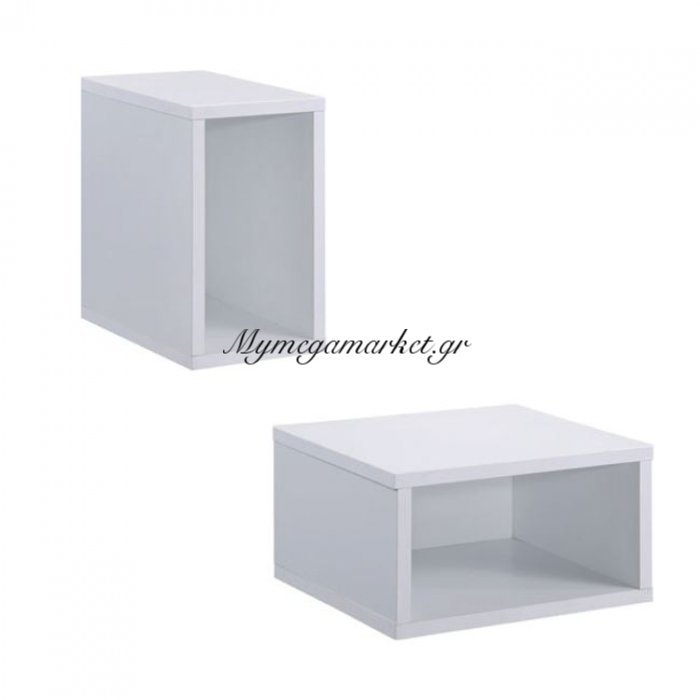Module Κουτί 30X17X30Cm Άσπρο | Mymegamarket.gr