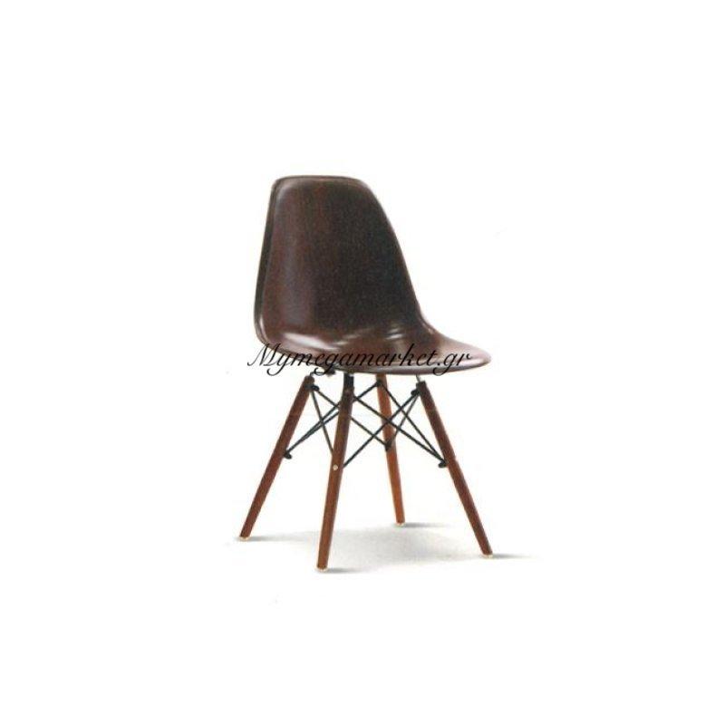Art Wood Καρέκλα Abs Καρυδί (Πόδι Καρυδί) Στην κατηγορία Καρέκλες εσωτερικού χώρου | Mymegamarket.gr