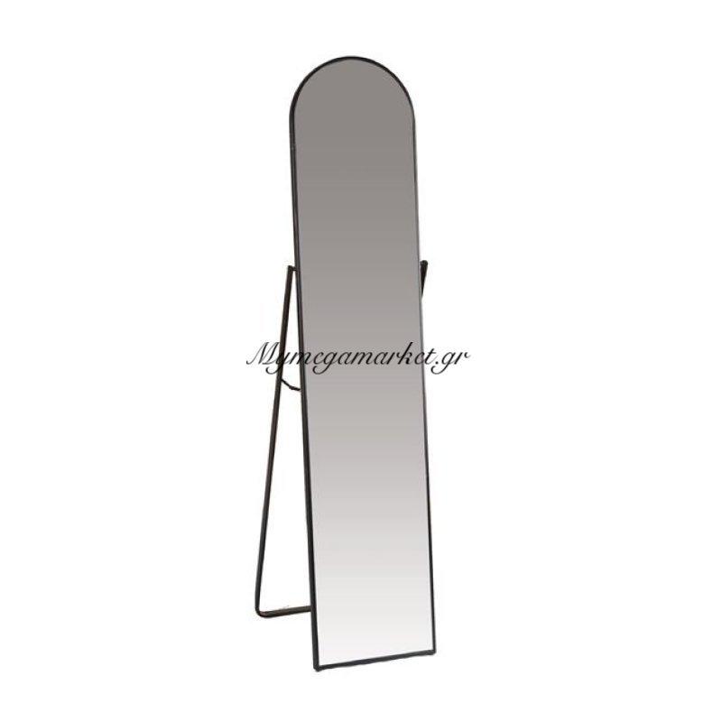 Harvey Καθρέπτης Δαπέδου 40X43X160Cm Μεταλ.μαύρος Στην κατηγορία Καθρέφτες | Mymegamarket.gr