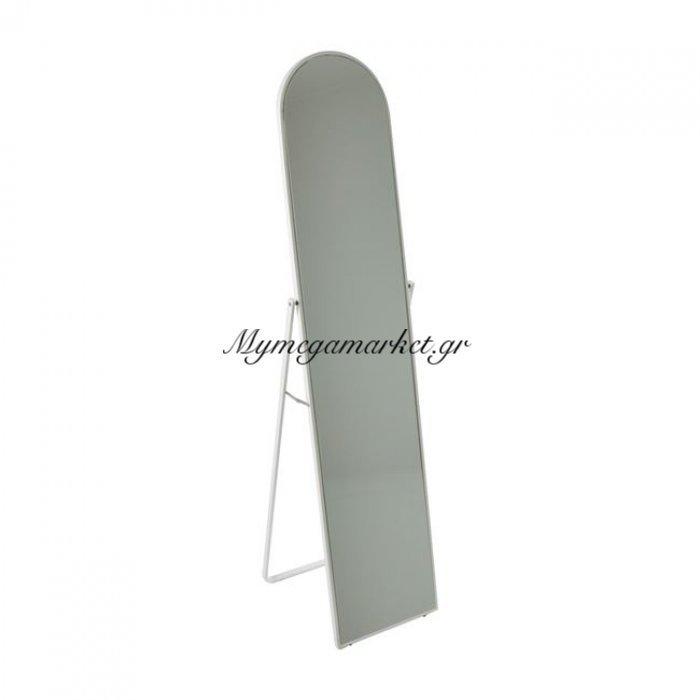 Harvey Καθρέπτης Δαπέδου 40X43X160Cm Μεταλ.άσπρος | Mymegamarket.gr