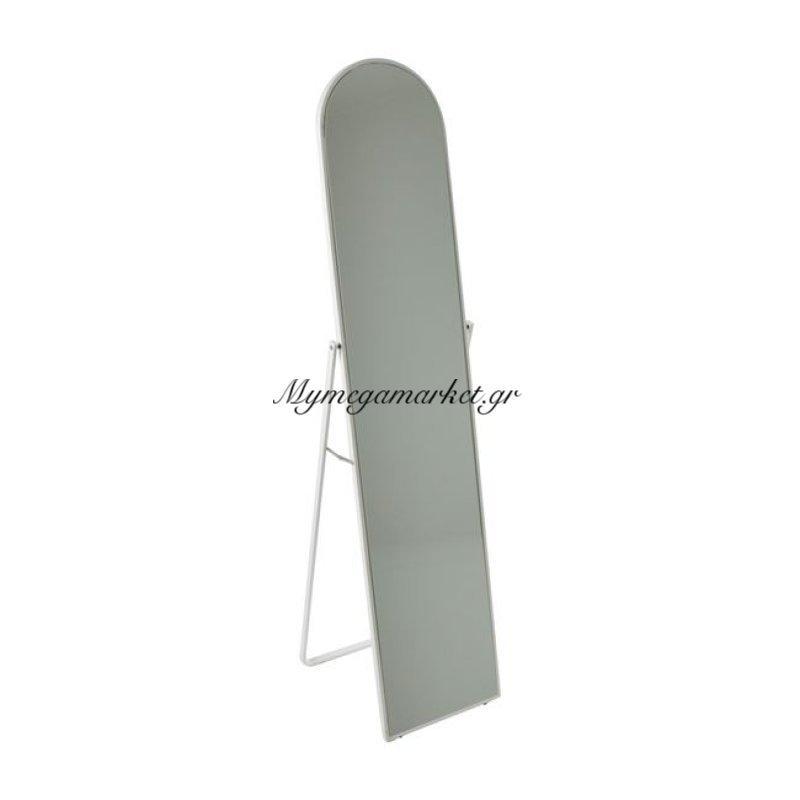 Harvey Καθρέπτης Δαπέδου 40X43X160Cm Μεταλ.άσπρος Στην κατηγορία Καθρέφτες | Mymegamarket.gr