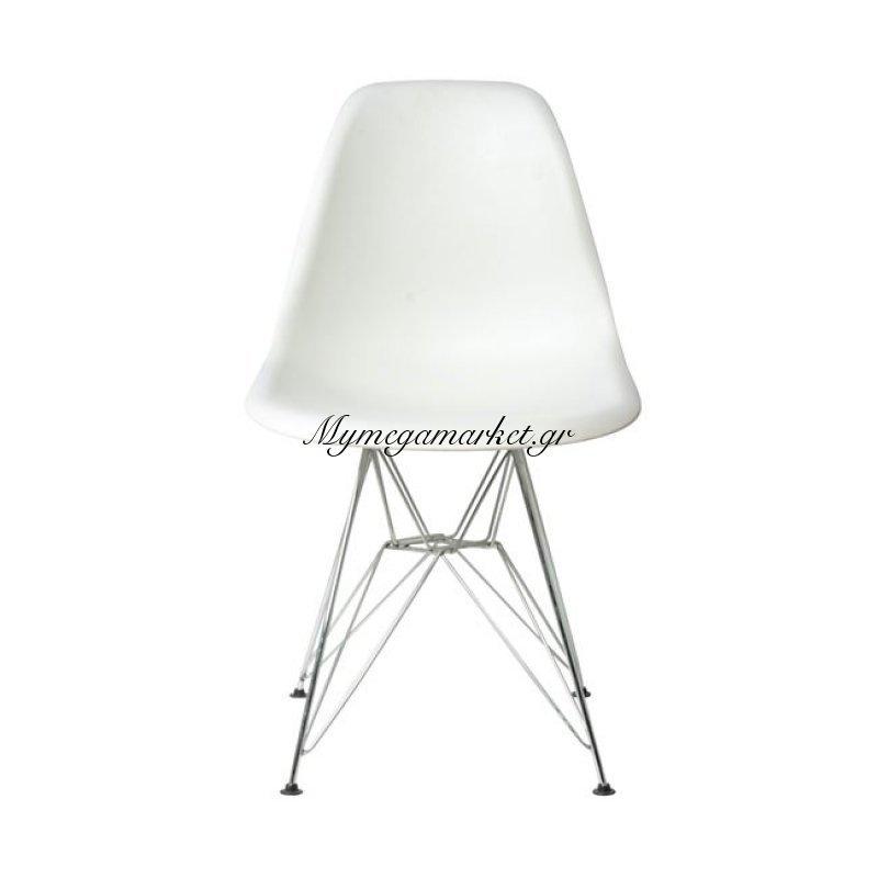Art Καρέκλα Pp Λευκό Στην κατηγορία Καρέκλες εσωτερικού χώρου | Mymegamarket.gr