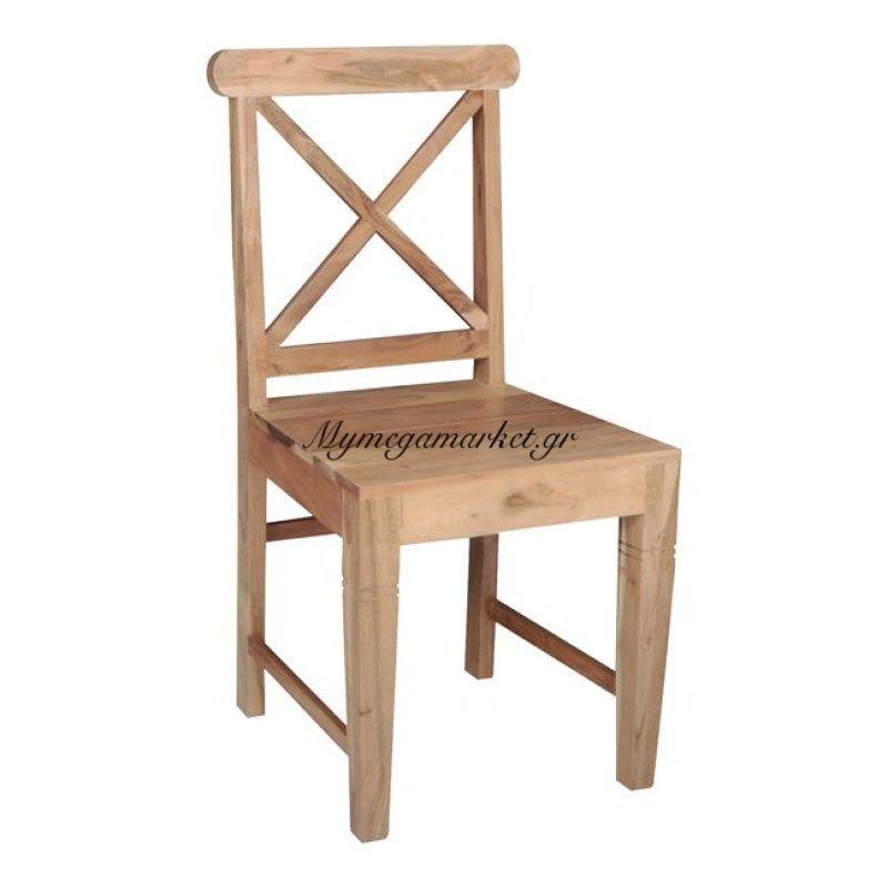 Kika Καρέκλα Ακακία Φυσικό Στην κατηγορία Καρέκλες εσωτερικού χώρου | Mymegamarket.gr