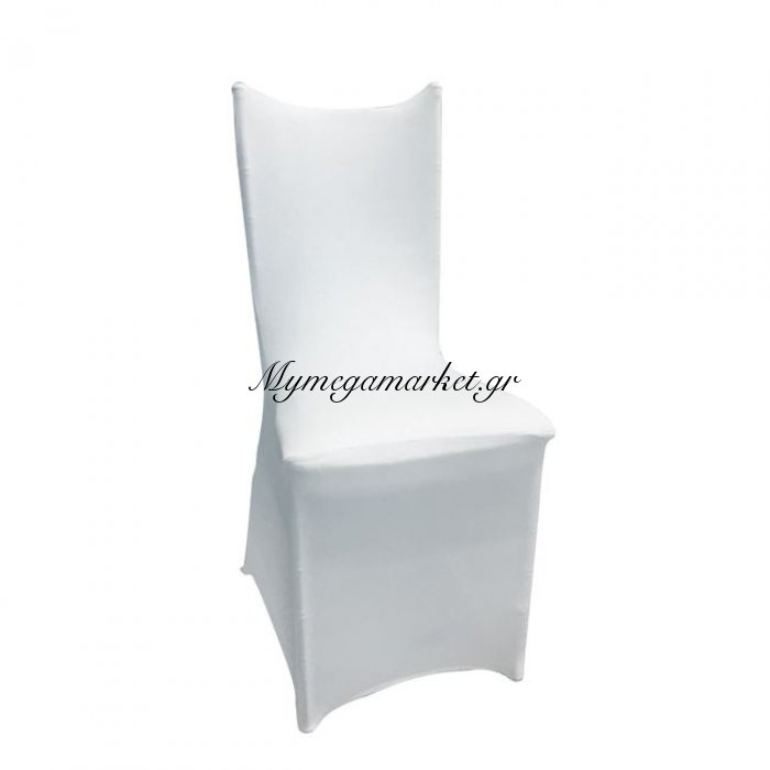 Ilona-Hilton Ελαστικό Υφασμάτινο Κάλυμμα Λευκό | Mymegamarket.gr