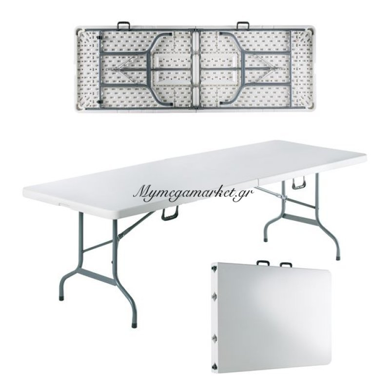 Blow-R Συνεδρίου Τραπέζι 240X85Cm Πτυσσόμενο Λευκό (Βαλίτσα) Στην κατηγορία Τραπέζια - Τραπεζαρίες | Mymegamarket.gr