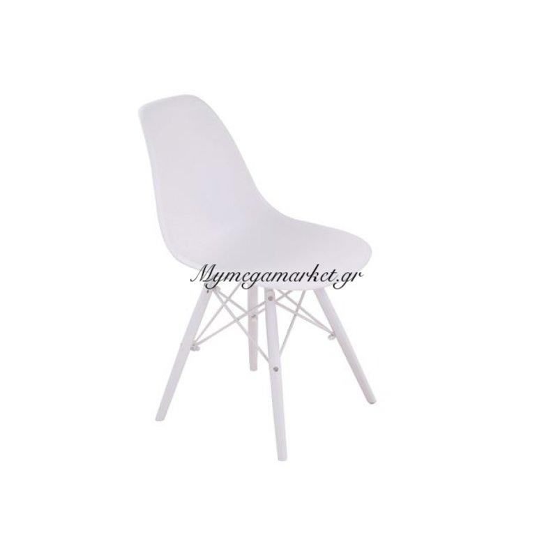 Art Καρέκλα Pp Λευκό (Πόδι Pp Λευκό) Στην κατηγορία Καρέκλες εσωτερικού χώρου | Mymegamarket.gr