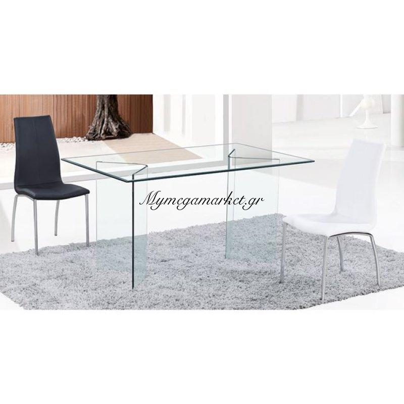 Glasser Clear Τραπέζι 180X90X78Cm Γυαλί 10Mm Στην κατηγορία Τραπέζια - Τραπεζαρίες | Mymegamarket.gr